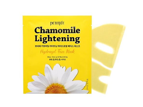 Petitfee Hydrogel FACE Mask 1EA - Chamomile Lightening