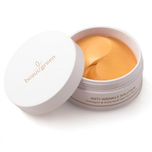 BeauuGreen  Hydrogel Eye Patch - Collagen & Gold