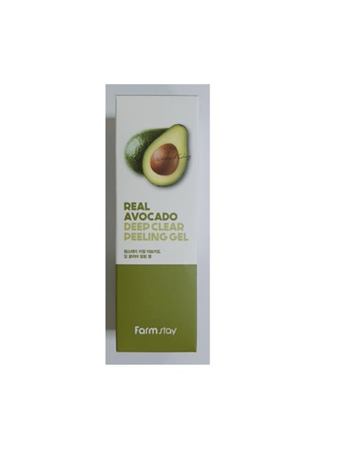 Farmstay Real Deep Clear Peeling Gel 100ml - Avocado