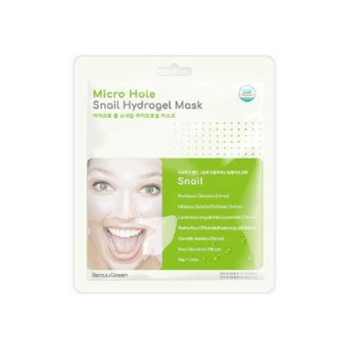 BeauuGreen Micro Hole Hydrogel Mask (1ea) - Snail