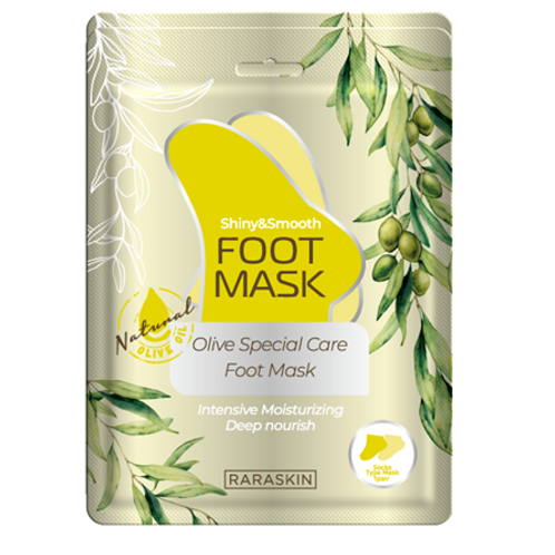 RARA SKIN Olive Special Care - Foot Mask (1ea)