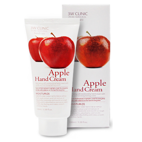 3W Clinic Moisturizing Hand Cream - Apple