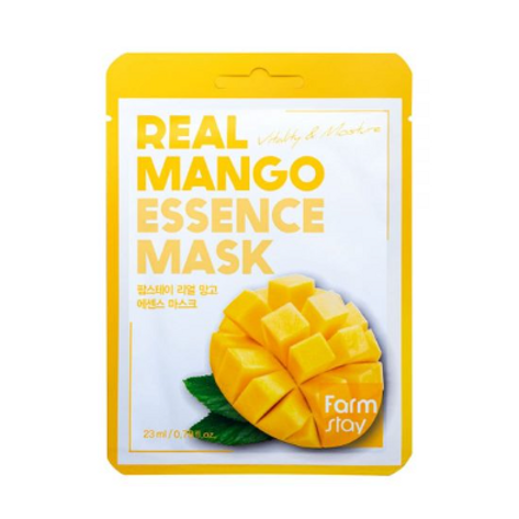 Farmstay Real Essence Mask (10ea) - Mango