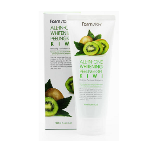 Farmstay All-In-One Refresh  Peeling Gel 180ml -Kiwi