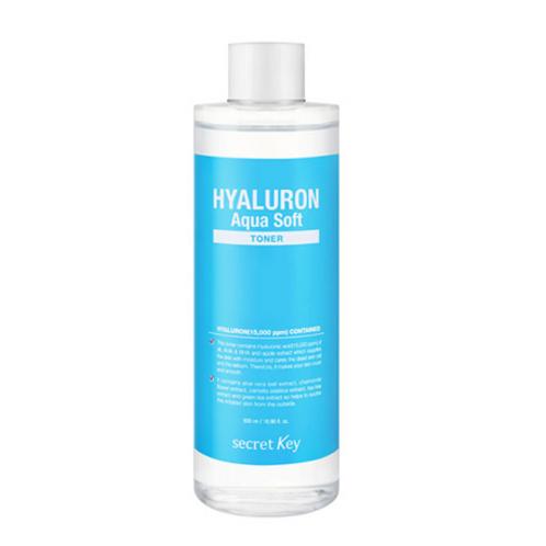Secret Key HYALURON Aqua Soft  Toner 500ml