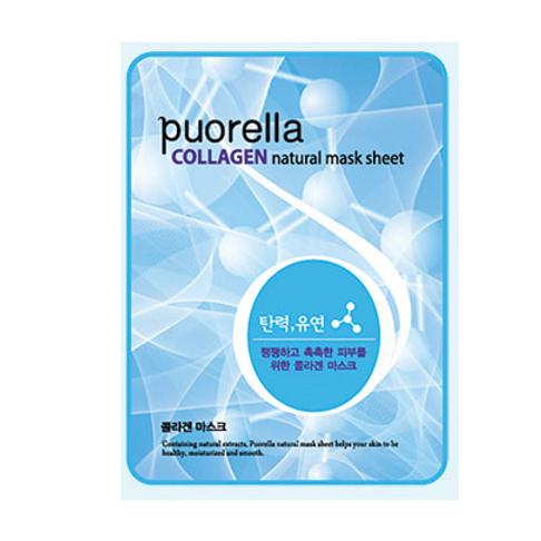 Puorella Mask Sheet -COLLAGEN (10ea)