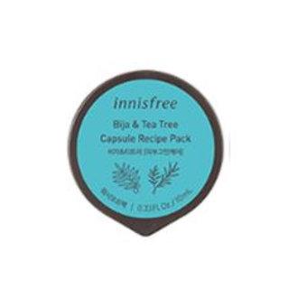 Innisfree Capsule Recipe Pack - Jeju Bija & Tea tree