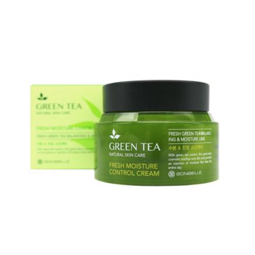 BONIBELLE  GREEN TEA Fresh Moisture Control Cream 80ml