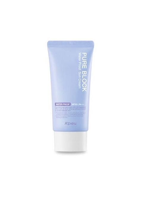 A'pieu Pure Block  Sun Cream  SPF50+, PA+++ 50ml - Water Proof