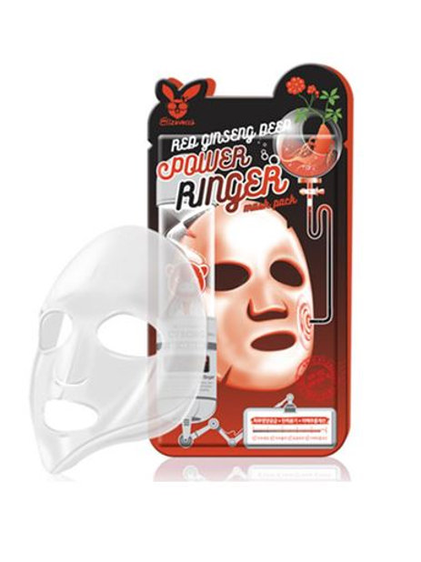 Elizavecca Deep Power Ringer Mask Pack - Red Ginseng (10ea)