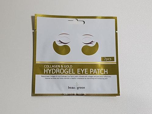 BeauuGreen  Hydrogel Eye Patch (1ea / 2pcs) - Collagen & Gold