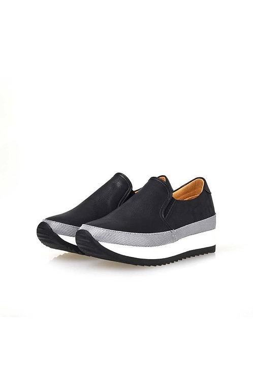 Dual Comfort Slip-on (BLACK)