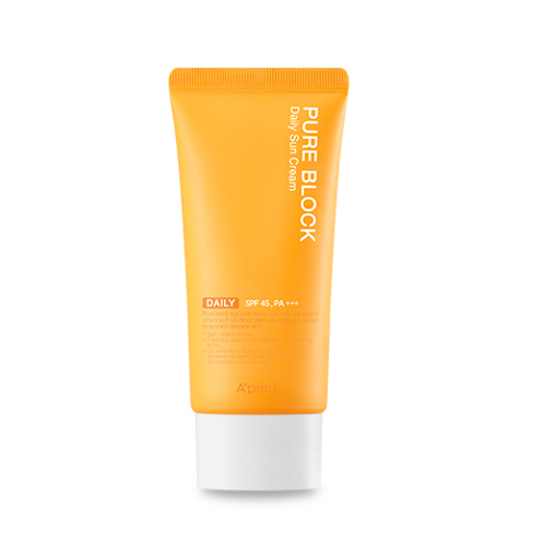 A'pieu Pure Block  Sun Cream  SPF45+, PA+++ 50ml - Daily