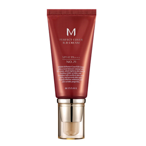 Missha M Perfect Cover BB Cream 50ml - #21 (Light Beige)