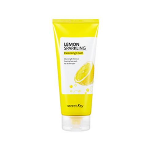 Secret Key Lemon Sparkling Cleansing Foam 200g