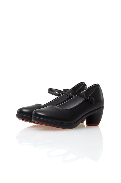 Mary Jane Pumps  (BLACK)