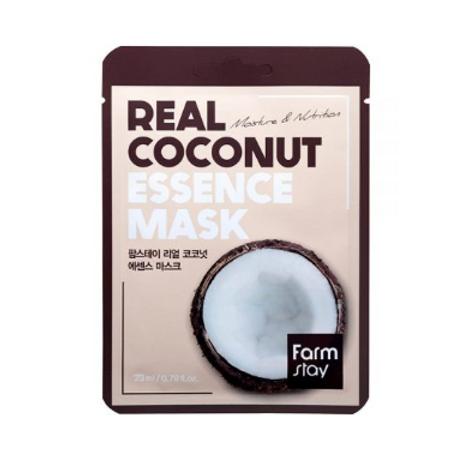Farmstay Real Essence Mask (10ea) - Coconut