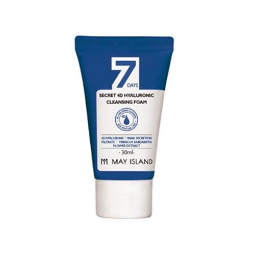 May Island 7days Secret 4D Hyaluronic Cleansing Foam 30ml