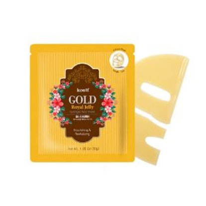 Koelf Hydrogel Face Mask Pack 1EA - Gold Royal Jelly