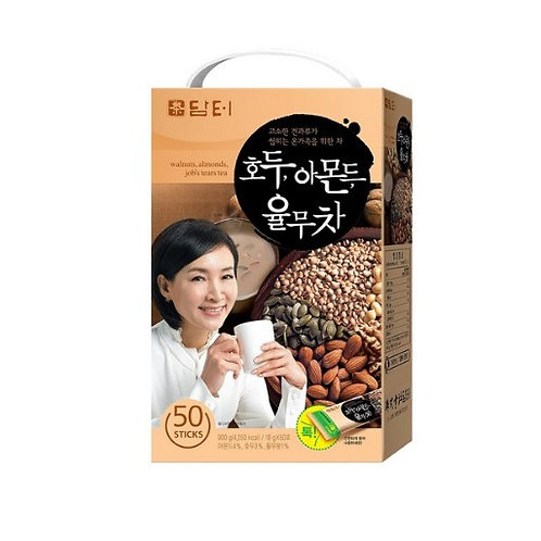 Damtuh Walnut Almond Adlay Tea (Jobs Tear) 18g (50 Sticks)