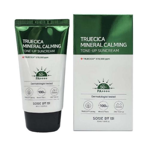 SOME BY MI Truecica Mineral Calming Tone-Up Suncream SPF50+ PA++++ 50ml