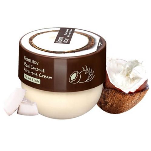 Farmstay Real Coconut All-in-one Cream (face & body) 300ml