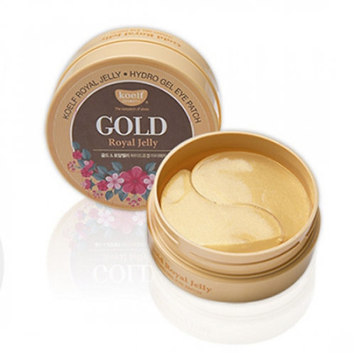 KOELF Hydrogel Eye Patch - Gold & Royal Jelly