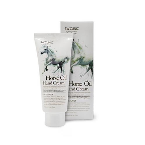 3W Clinic Moisturizing Hand Cream - Horse Oil
