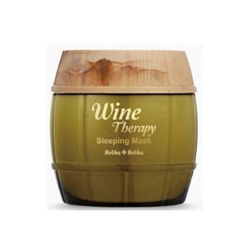Holika Holika Wine Therapy Sleeping Mask 120ml - White
