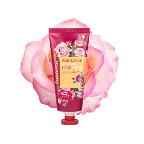 Farmstay Pink Flower Blooming Hand Cream - Pink Rose