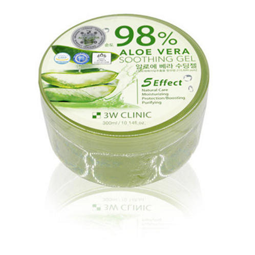3W Clinic  ALOEVERA SOOTHING GEL - 300ml
