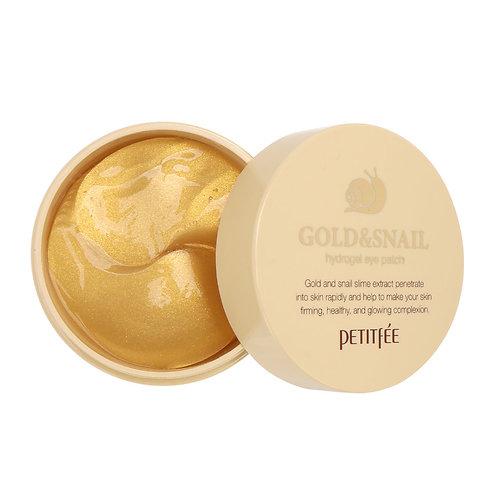 Petitfee Hydrogel Eye PATCH - Gold & Snail