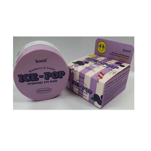 Koelf  ICE - POP Hydrogel Eye Mask  - Blueberry & Cream