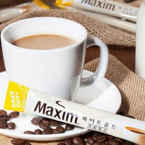 A_Maxim White Gold Coffee Mix 12g (1 Stick)