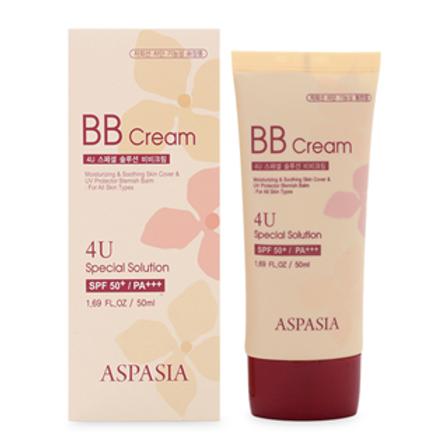 Aspasia  4U Special Solution BB Cream SPF 50+/PA+++