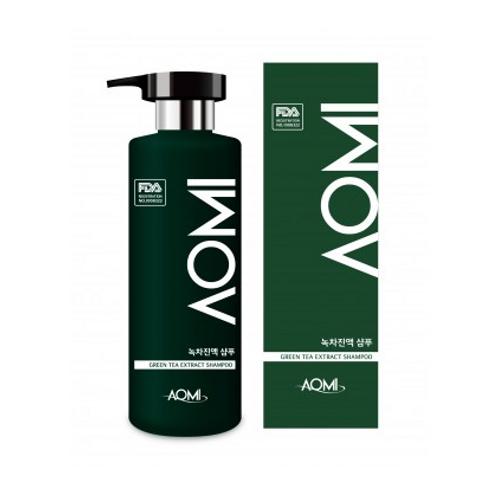 AOMI Green Tea Extract Shampoo 500ml