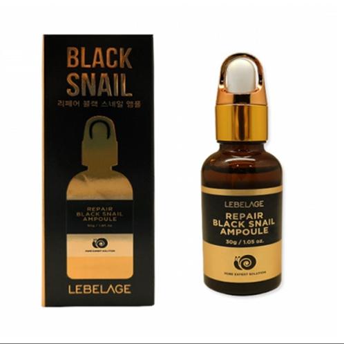 LEBELAGE Black Snail Ampoule 30g 1+1