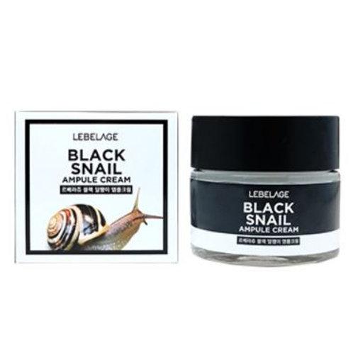 LEBELAGE Ampule Cream - Black Snail