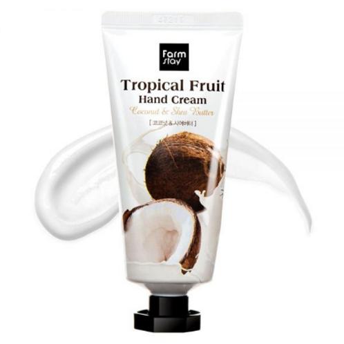 Farmstay Tropical Fruit Hand Cream - Coconut & Shea Butter