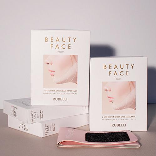 RUBELLI BEAUTY FACE Premium (Pink band 1ea + Hot mask sheet 7ea)