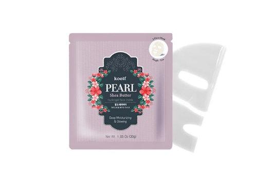 Koelf Hydrogel Face Mask Pack 1EA - Pearl & Shea Butter