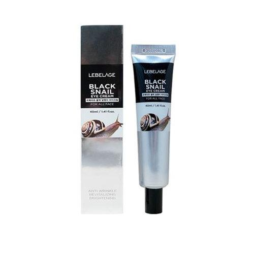 LEBELAGE Eye Cream (Tube) 40ml - Black Snail
