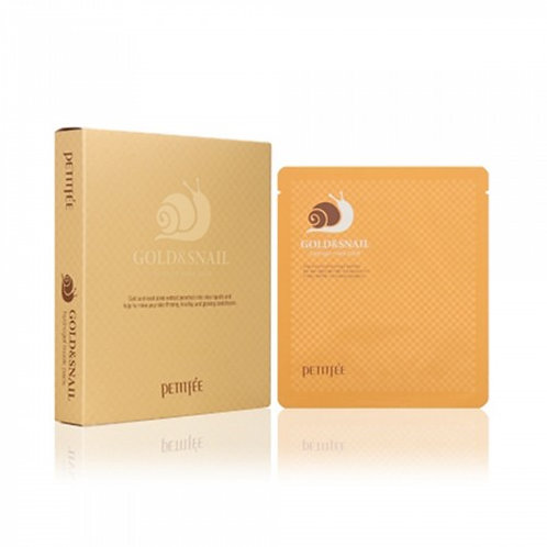Petitfee Hydrogel MASK PACK 1EA - Gold & Snail