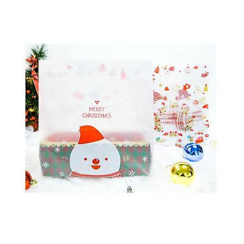 A_Plastic Bag  x 50ea (Snowman)