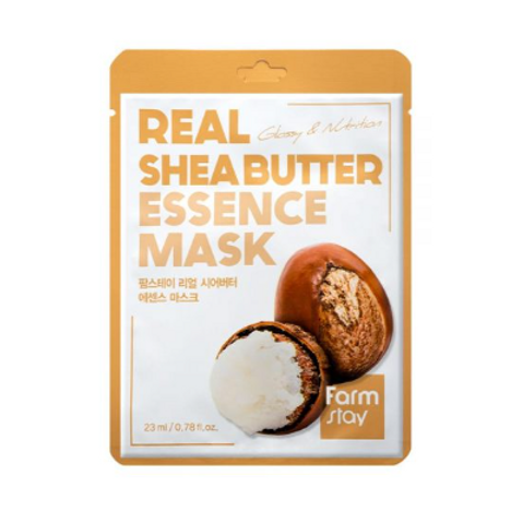 Farmstay Real Essence Mask (10ea) - Shea Butter