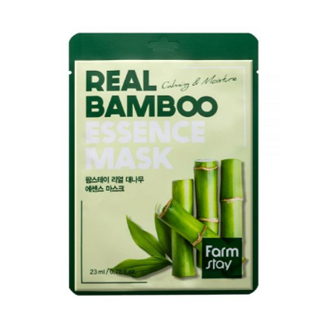 Farmstay Real Essence Mask (10ea) - Bamboo