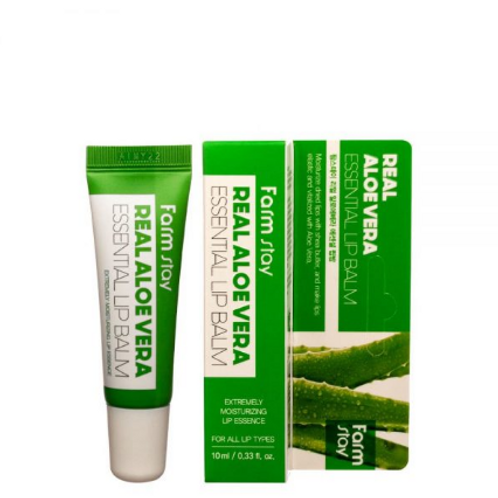 Farmstay Real Essential  Lip Balm - Aloe Vera