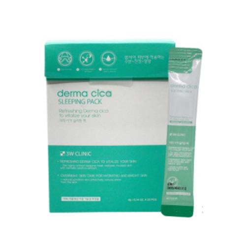 3W Clinic Derma Cica Sleeping Pack (4g*20ea)