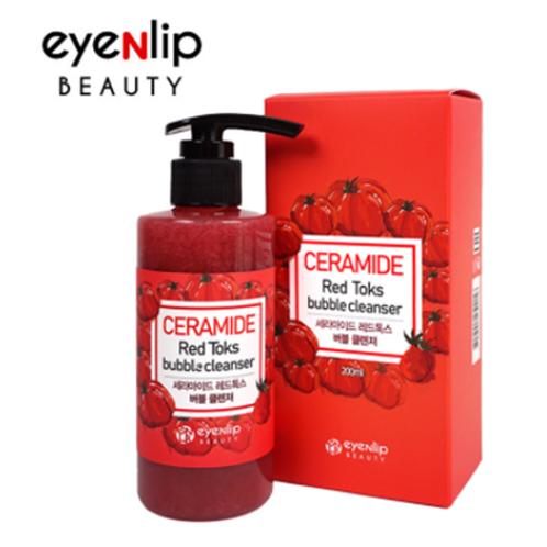 EYENLIP Ceramide Toks bubble Cleanser 200ml -  Red