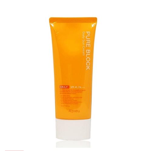 A'pieu Pure Block  Daily Sun Cream  SPF45, PA+++ 50ml -Daily